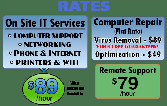 Computer Repair Pricing image