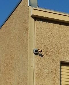 Exterior Security Camera Install image