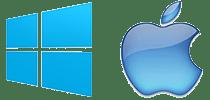 Microsoft Windows - Mac OS X Remote Viewing logo