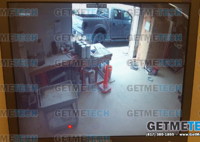 Security Cameras Example - 1080p HD System Wide-angle Monitor View 2